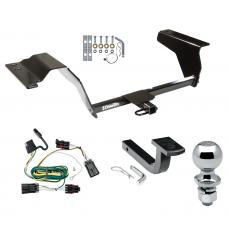 "Trailer Tow Hitch For 05-10 Chevy Cobalt HHR 07-09 Pontiac G5 GT Complete Package w/ Wiring Draw Bar and 2"" Ball"
