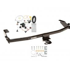 Trailer Tow Hitch For 01-10 Chrysler PT Cruiser Trailer Hitch Tow Receiver w/ Wiring Harness Kit