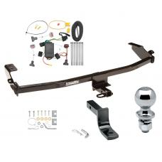 "Trailer Tow Hitch For 01-10 Chrysler PT Cruiser Complete Package w/ Wiring Draw Bar and 2"" Ball"