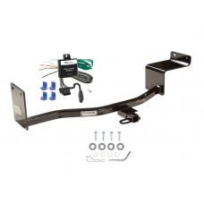 Trailer Tow Hitch For 06-11 Hyundai Accent KIA Rio Tow Receiver w/ Wiring Harness Kit