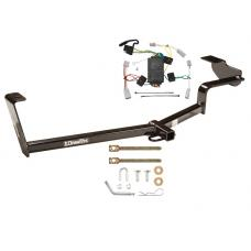 Trailer Tow Hitch For 06-15 Honda Civic Trailer Hitch Tow Receiver w/ Wiring Harness Kit