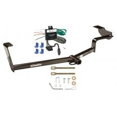Trailer Tow Hitch For 06-11 Honda Civic Trailer Hitch Tow Receiver w/ Wiring Harness Kit