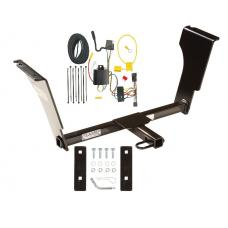 Trailer Tow Hitch For 03-07 Cadillac CTS and CTS V Trailer Hitch Tow Receiver w/ Wiring Harness Kit