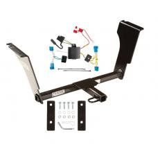 Trailer Tow Hitch For 08-13 Cadillac CTS Sedan Trailer Hitch Tow Receiver w/ Wiring Harness Kit