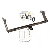 Trailer Tow Hitch For 2007 Dodge Caliber Trailer Hitch Tow Receiver w/ Wiring Harness Kit
