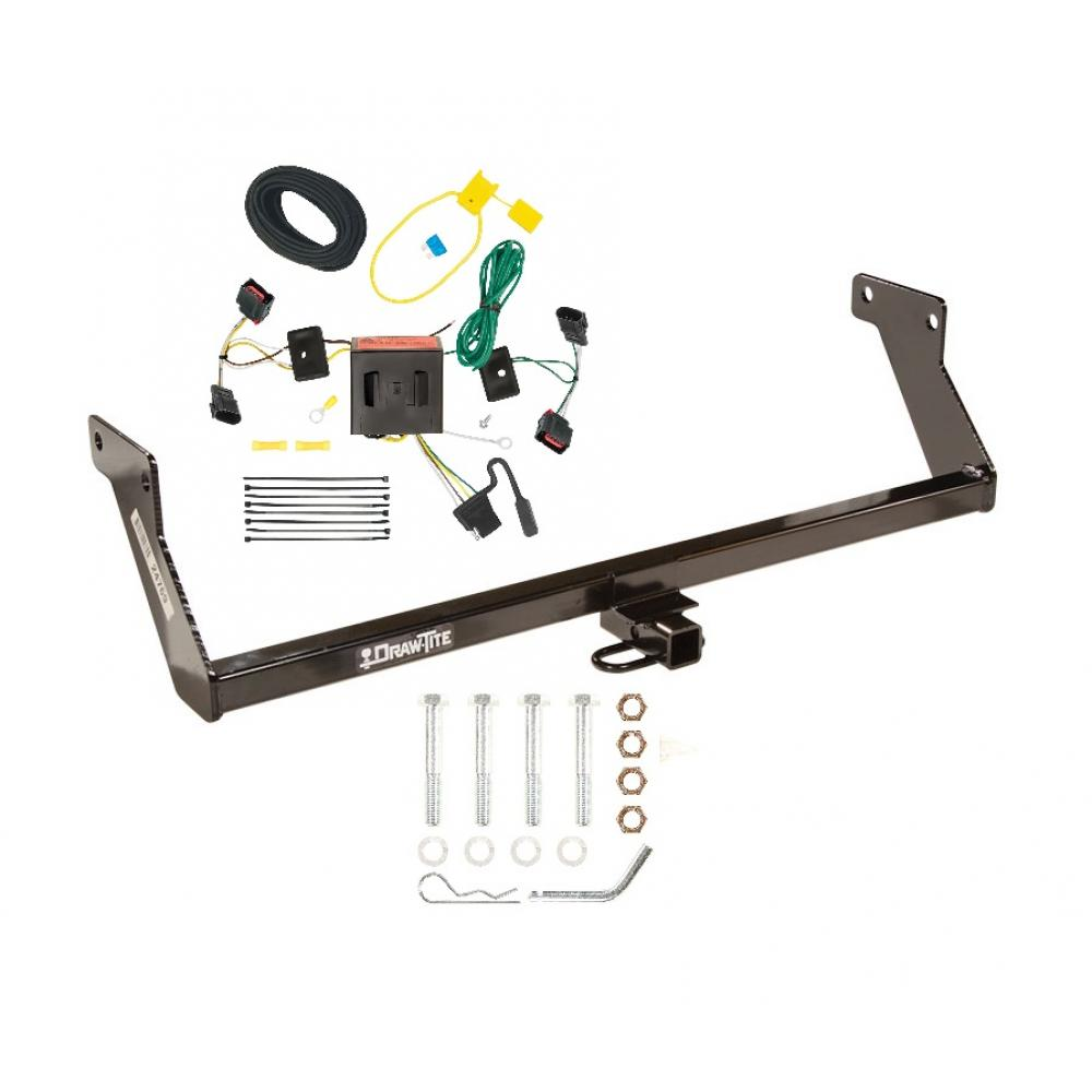 Brilliant 08 12 Dodge Caliber Trailer Hitch Tow Receiver W Wiring Harness Kit Wiring Cloud Tziciuggs Outletorg