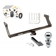 """Trailer Tow Hitch For 07 Dodge Caliber Complete Package w/ Wiring Draw Bar and 2"""" Ball"""