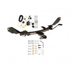Trailer Tow Hitch For 06-09 Ford Fusion Trailer Hitch Tow Receiver w/ Wiring Harness Kit