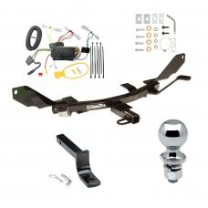 """Trailer Tow Hitch For 03-08 Mazda 6 Complete Package w/ Wiring Draw Bar and 2"""" Ball"""