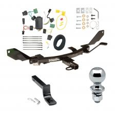 """Trailer Tow Hitch For 06-09 Mercury Milan Lincoln MKZ 06 Zephyr Complete Package w/ Wiring Draw Bar and 2"""" Ball"""