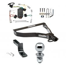 """Trailer Tow Hitch For 07-08 Honda Fit Complete Package w/ Wiring Draw Bar and 2"""" Ball"""