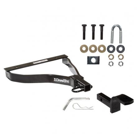 "Trailer Tow Hitch For 07-08 Honda Fit 1-1/4"" Towing Receiver w/ Draw Bar Kit"