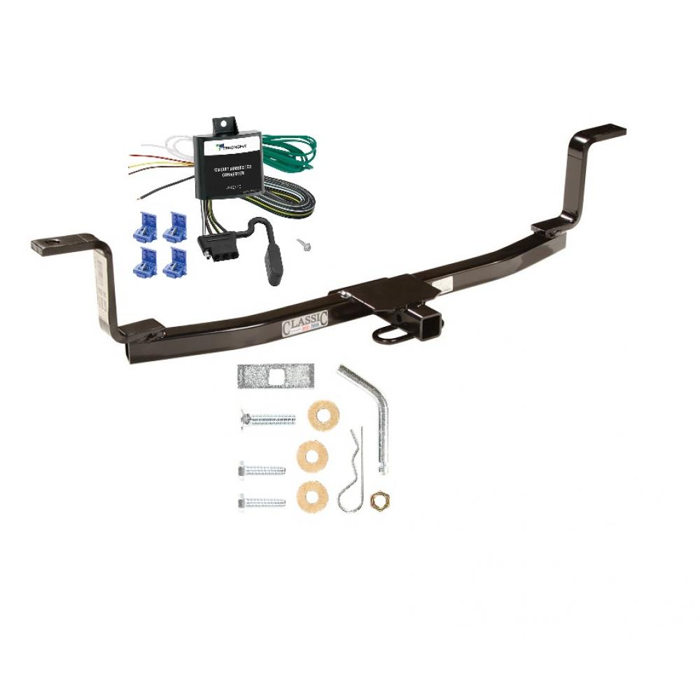 trailer tow hitch for 06 10 kia magentis tow receiver w. Black Bedroom Furniture Sets. Home Design Ideas