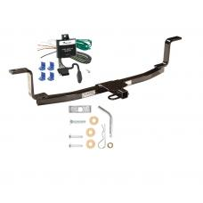Trailer Tow Hitch For 06-10 KIA Magentis Tow Receiver w/ Wiring Harness Kit