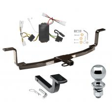 """Trailer Tow Hitch For 09-10 KIA Optima Complete Package w/ Wiring Draw Bar and 2"""" Ball"""