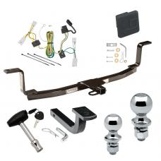 """Trailer Tow Hitch For 06-08 KIA Optima starts with 2006-1/2 Deluxe Package Wiring 2"""" and 1-7/8"""" Ball and Lock"""