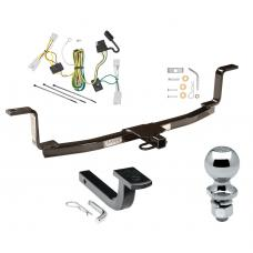 """Trailer Tow Hitch For 06-08 KIA Optima starts with 2006-1/2 Complete Package w/ Wiring Draw Bar and 2"""" Ball"""