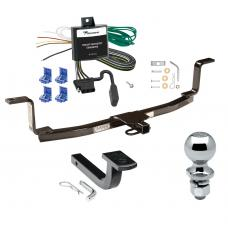 """Trailer Tow Hitch For 06-10 KIA Magentis Canada Only Complete Package w/ Wiring Draw Bar and 2"""" Ball"""