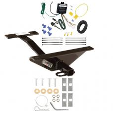 Trailer Tow Hitch For 04-07 Mazda 6 Sport Wagon Trailer Hitch Tow Receiver w/ Wiring Harness Kit