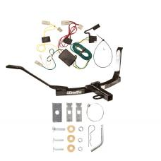 Trailer Tow Hitch For 03-07 Honda Accord Sedan Trailer Hitch Tow Receiver w/ Wiring Harness Kit