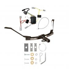 Trailer Tow Hitch For 06-07 Honda Accord Coupe Trailer Hitch Tow Receiver w/ Wiring Harness Kit