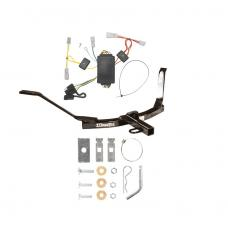 Trailer Tow Hitch For 03-05 Honda Accord Coupe Trailer Hitch Tow Receiver w/ Wiring Harness Kit