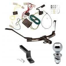 """Trailer Tow Hitch For 03-07 Honda Accord Sedan Complete Package w/ Wiring Draw Bar and 2"""" Ball"""