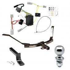 """Trailer Tow Hitch For 06-07 Honda Accord Coupe Complete Package w/ Wiring Draw Bar and 2"""" Ball"""