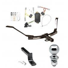 """Trailer Tow Hitch For 03-05 Honda Accord Coupe Complete Package w/ Wiring Draw Bar and 2"""" Ball"""