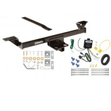 Trailer Tow Hitch For  02-06 Nissan Altima Tow Receiver w/ Wiring Harness Kit