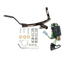 Trailer Tow Hitch For 98-02 Honda Accord Sedan 99-03 Acura TL 01-03 CL Trailer Hitch Tow Receiver w/ Wiring Harness Kit