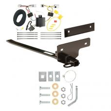Trailer Tow Hitch For 07-12 Nissan Sentra Tow Receiver w/ Wiring Harness Kit