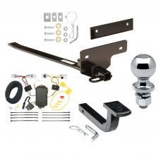 "Trailer Tow Hitch For 07-12 Nissan Sentra Complete Package w/ Wiring Draw Bar and 2"" Ball"