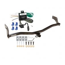 Trailer Tow Hitch For 06-11 KIA Rio5 Hatchback 07-11 Hyundai Accent Hatchback Tow Receiver w/ Wiring Harness Kit