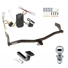 """Trailer Tow Hitch For 07-10 Hyundai Elantra Sedan Complete Package w/ Wiring Draw Bar and 2"""" Ball"""