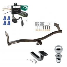 """Trailer Tow Hitch For 06-11 KIA Rio5 Hyundai Accent Hatchback Complete Package w/ Wiring Draw Bar and 2"""" Ball"""