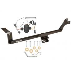 Trailer Tow Hitch For 07-10 KIA Rondo 11-12 Canada Only Tow Receiver w/ Wiring Harness Kit