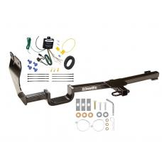Trailer Tow Hitch For 07-11 Nissan Versa Sedan Tow Receiver w/ Wiring Harness Kit