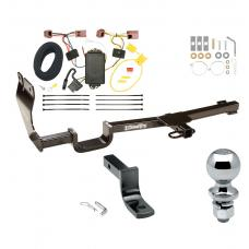 """Trailer Tow Hitch For 07-12 Nissan Versa 5 Dr. Hatchback Complete Package w/ Wiring Draw Bar and 2"""" Ball"""