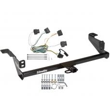 Trailer Tow Hitch For 08-11 Ford Focus Trailer Hitch Tow Receiver w/ Wiring Harness Kit