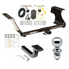 """Trailer Tow Hitch For 08-11 Subaru Impreza 4 Dr. Sedan Complete Package w/ Wiring Draw Bar and 2"""" Ball"""