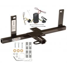 Trailer Tow Hitch For 2006 Chevy Aveo Sedan Trailer Hitch Tow Receiver w/ Wiring Harness Kit