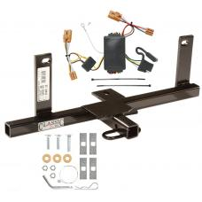 Trailer Tow Hitch For 07-11 Chevy Aveo Sedan Trailer Hitch Tow Receiver w/ Wiring Harness Kit
