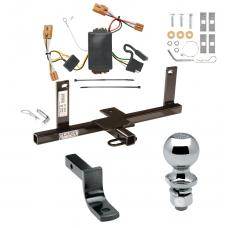 """Trailer Tow Hitch For 07-11 Chevy Aveo 4 Dr. Sedan Complete Package w/ Wiring Draw Bar and 2"""" Ball"""