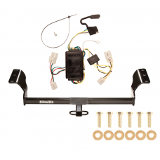 Trailer Tow Hitch For 03-08 Toyota Matrix Trailer Hitch Tow Receiver w/ Wiring Harness Kit