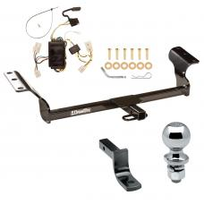 """Trailer Tow Hitch For 03-08 Toyota Matrix Complete Package w/ Wiring Draw Bar and 2"""" Ball"""