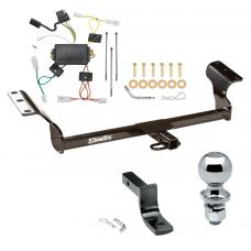 """Trailer Tow Hitch For 03-08 Pontiac Vibe Complete Package w/ Wiring Draw Bar and 2"""" Ball"""
