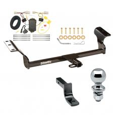 """Trailer Tow Hitch For 09-13 Toyota Matrix 09-10 Pontiac Vibe Except GT Complete Package w/ Wiring Draw Bar and 2"""" Ball"""