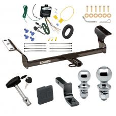 """Trailer Tow Hitch For 2014 Toyota Matrix Canada Only Deluxe Package Wiring 2"""" and 1-7/8"""" Ball and Lock"""