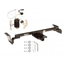 Trailer Tow Hitch For 00-02 Toyota Echo Except Hatchback Trailer Hitch Tow Receiver w/ Wiring Harness Kit